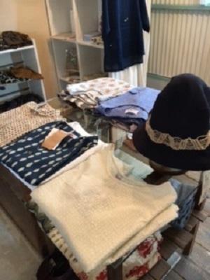帽子や洋服